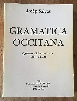 Gramatica occitana dels parlars lengadocians: JOSèP SALVAT