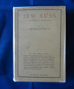 Jew Suss: FEUCHTWANGER, Lion. Translated