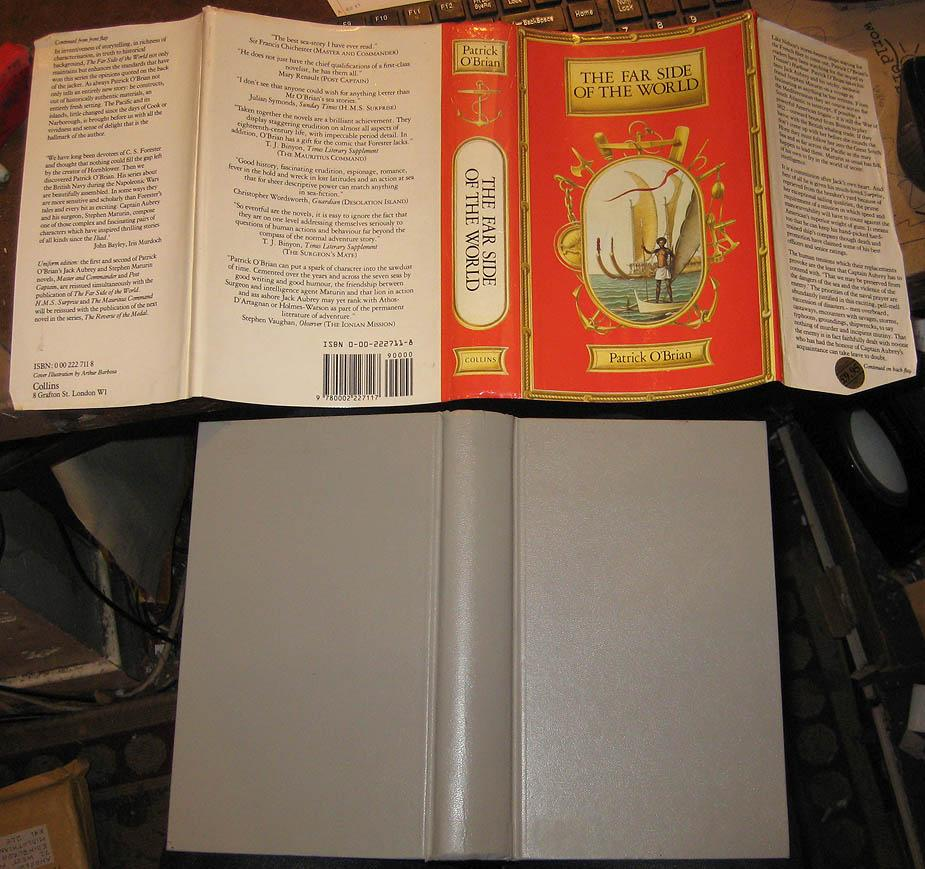 the far side of the world by patrick oí brian essay The far side of the world by patrick o'brian dust cover missing millions of satisfied customers and climbing thriftbooks is the name you can trust, guaranteed.