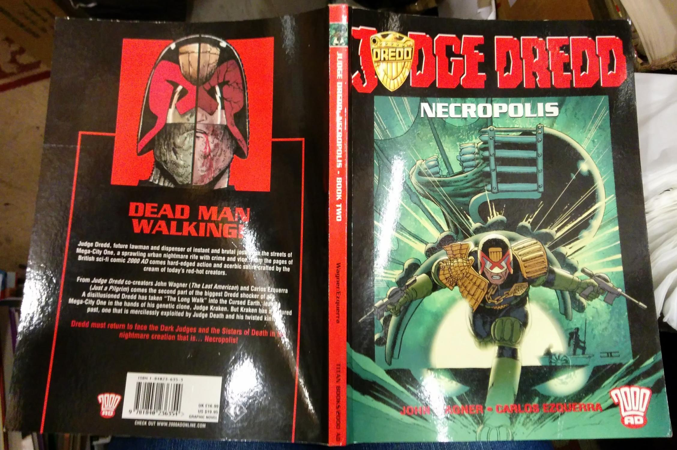 Judge Dredd: Necropolis Book Two by John Wagner