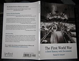 The First World War : A Brief: Grayzel, Susan R.
