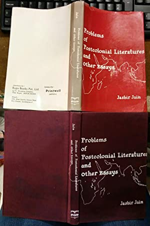 Problems of Postcolonial Literature and Other Essays: Jasbir Jain
