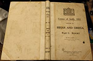 Census of India, 1931 Volume VII -: Lacey, W. G.