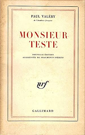 Monsieur Teste: Valery, Paul