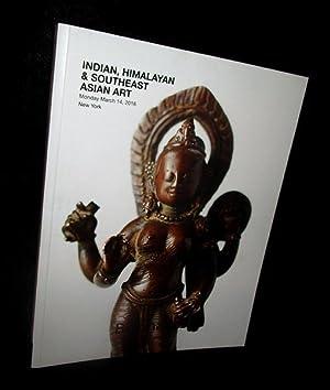 Indian, Himalayan & Southeast Asian Art: Monday