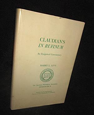 Claudian's in Rufinum: An Exegetical Commentary
