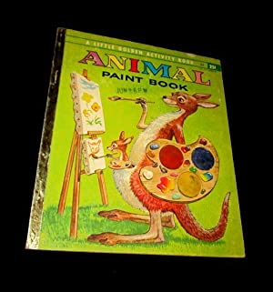 Animal Paint Book