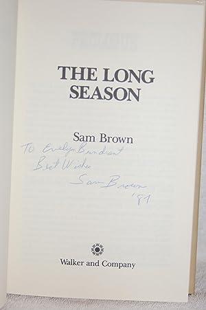 The Long Season: Sam Brown