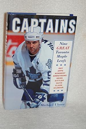 Captains; Nine Great Toronto Maple Leafs: Michael Ulmer