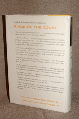 Kings of the Court; The Story of Lawn Tennis: Edward C. Potter