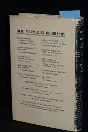 A Puritan in Babylon; The Story of Calvin Coolidge: William Allen White (AUTHOR SIGNED)