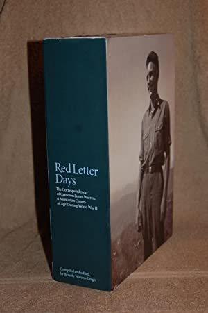 Red Letter Days; The Correspondence of Cameron: Beverly Warren-Leigh, Compiler