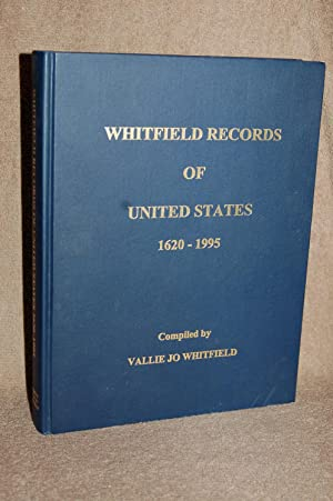 Whitfield Records of United States 1620-1995