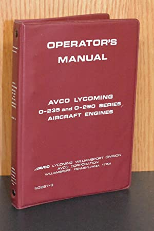Avco Lycoming AbeBooks