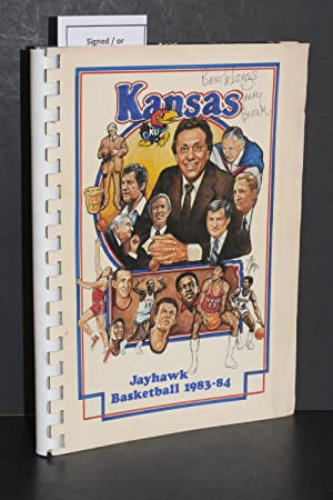 1983-84 Kansas Jayhawk Basketball Media Guide