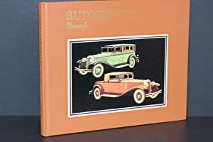 Automobile Quarterly: the Connoisseur's Magazine of Motoring Today, Yesterday, and Tomorrow {Volu...