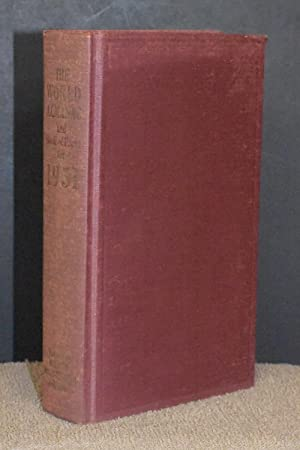 The World Almanac and Book of Facts: Harry Hansen, Editor