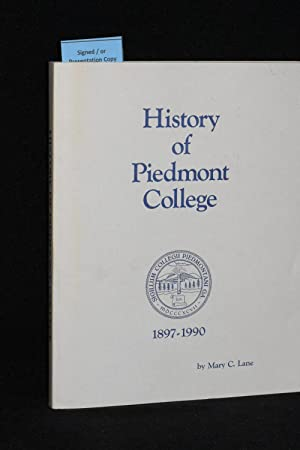 History of Piedmont College 1897-1990