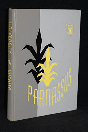 1958 Parnassus University of Wichita Kansas College Yearbook