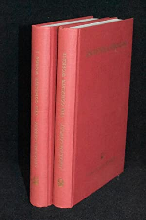 Abraham Cowley; The Complete Works in Verse and Prose (2 Volumes)