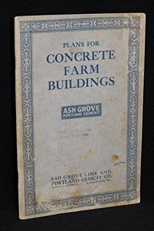 Plans for Concrete Farm Buildings