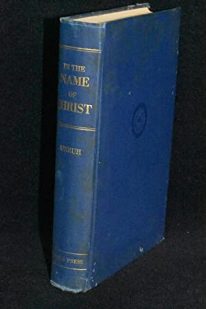 In The Name Of Christ; A History of the Mennonite Central Committee and Its Service 1920-1951
