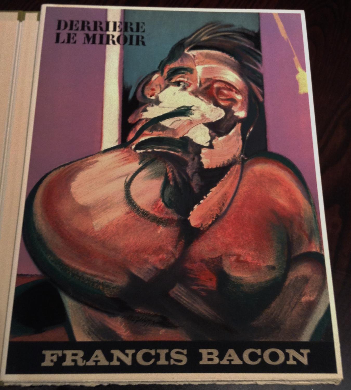 Derriere le miroir francis bacon 1966 by michel lereis for Maeght derriere le miroir