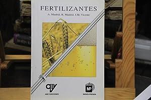 Fertilizantes: A. Madrid, R. Madrid y J.M Vicente