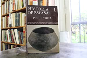 Historia de España. Prehistoria: Francisco Jordá Cerdá, Manuel Pellicer Catalán, Pilar ...