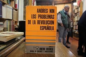 Los problemas de la Revolución española (1931-1937): Andrés Nin