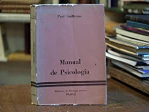 Manual de Psicología: Paul Guillaume