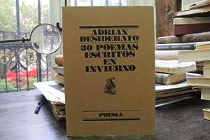 30 poemas escritos en invierno: Adrian Desiderato