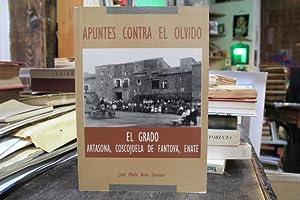 El Grado Artasona, Coscojuela de Fantova, Enate. Apuntes contra el olvido: Jose Maria Brun Samitier