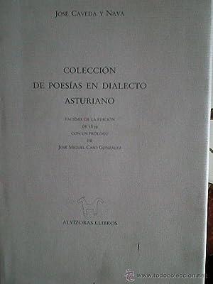 Colección de poesías en dialecto asturiano: CAVEDA y NAVA,