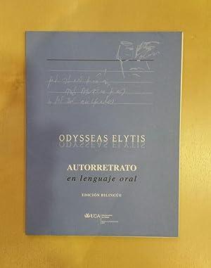 Autorretrato en lenguaje oral.: ELYTIS, Odysseas.