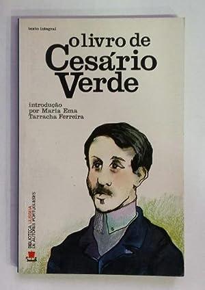 Olivro de Cesário Verde.: Verde, Cesário.