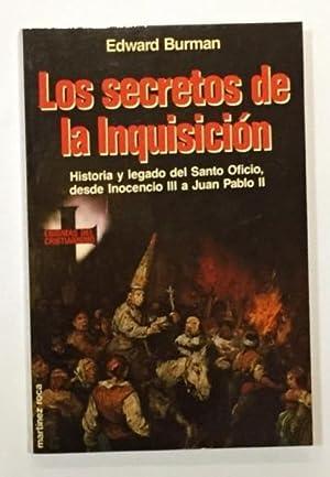 Los secretos de la Inquisición.: BURMAN, Edward.