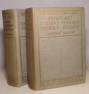 DIZIONARIO ITALIANO TEDESCO - TEDESCO ITALIANO: BIDOLI EMILIO - COSCIANI GUIDO