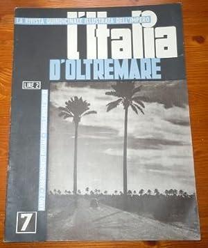 L'ITALIA D'OLTREMARE - RIVISTA ILLUSTRATA DEI NOSTRI: FELICI O. S.