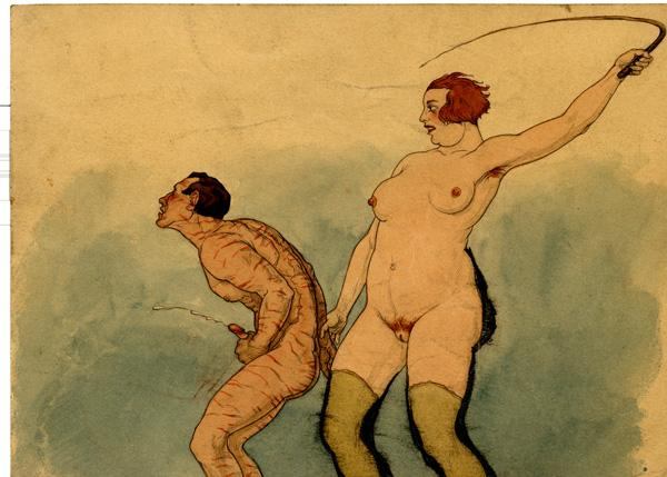 Female domination etchings