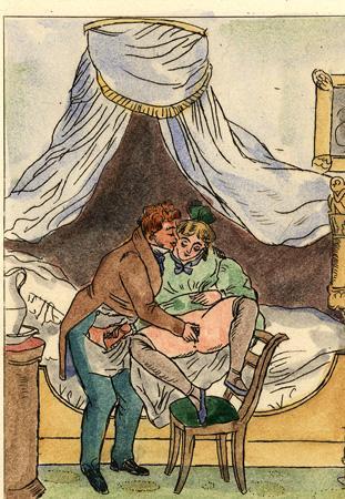 8 erotische Kupferstiche. by Delmosa, E. [?]: (1910