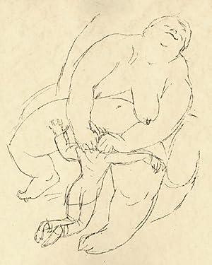 Erotische Phantasien. 45 Lithographien.: Biros [Pseud., d.i.