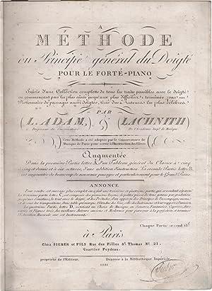 Methode ou Principe général du doigté pour: Adam, Jean-Louis (1758-1848)