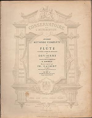 Célèbre méthode complète de Flûte (systèmes Boehm: DEVIENNE, François (1759-1803)