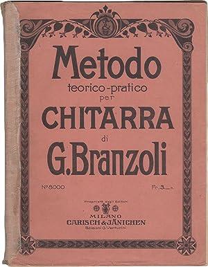 Metodo teorico-pratico per chitarra: BRANZOLI, Giuseppe (1845-1909)