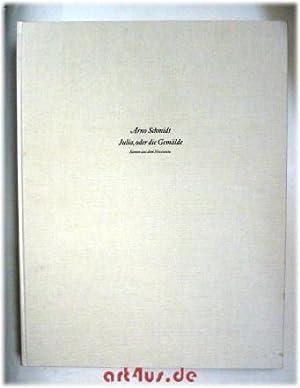 Julia, oder die Gemälde : Szenen aus d. Novecento ; (Materialsammlung ab 1976, Niederschrift ...