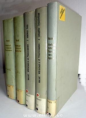 Wörterbuch der deutschen Pflanzennamen (5 Bände) : Bd. 1 : (Abelia - Cytisus) : Mit 296 ...