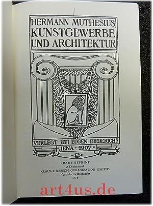 Kunstgewerbe und Architektur / Kultur und Kunst. Gesammelte Aufsätze über kü...