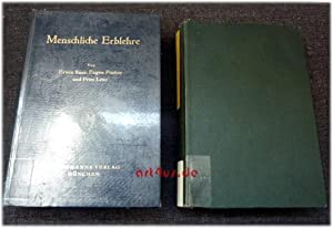 Menschliche Erblehre und Rassenhygiene : 2 Bde. : Bd.1: Menschliche Erblehre ; Bd.2: Menschliche ...