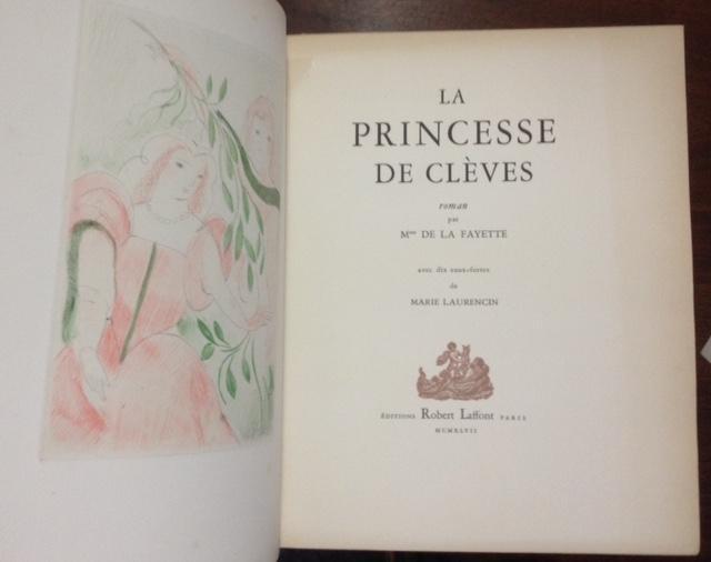 La princesse de clèves de Mmme de la Fayette